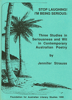 View FALS: Colin Roderick Lecture 1989: Jennifer Strauss