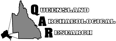 Image. Logo for Queensland Archaeological Research journal.